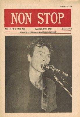Non Stop 10 (181) Październik 1987 Wojtek Waglewski