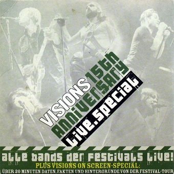 Visions 15th Anniversary Live.Special (CD)