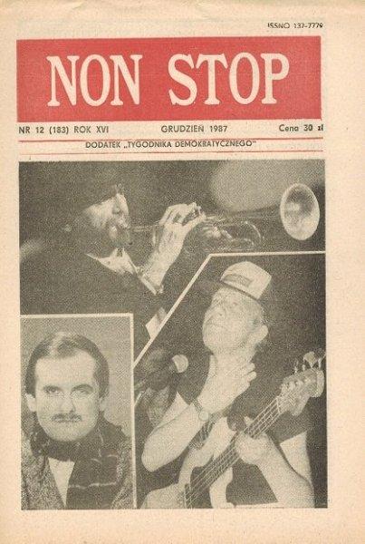 Non Stop 12 (183) Grudzień 1987