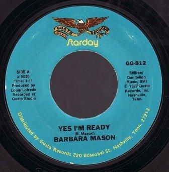 Barbara Mason / Bobby Lewis - Yes I'm Ready / Tossin' And Turnin' (7)
