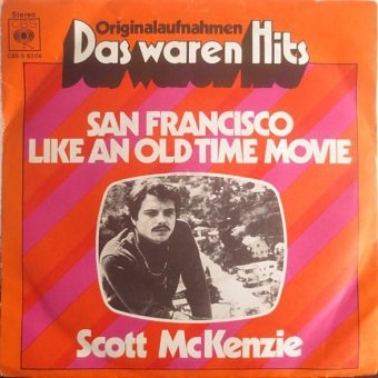 Scott McKenzie - San Francisco (7'')