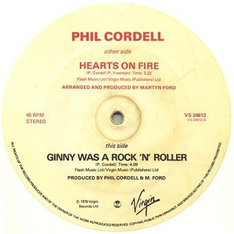 Phil Cordell - Hearts On Fire (12'')
