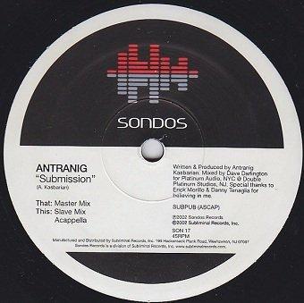 Antranig - Submission (12'')