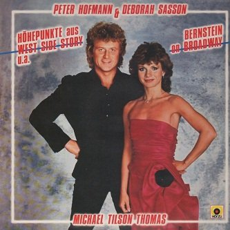 Peter Hofmann & Deborah Sasson - Bernstein On Broadway (LP)