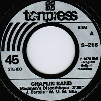 Chaplin Band, American Gypsy - Madmen's Discotheque, Water Boy (7'')