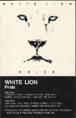 White Lion - Pride (MC)