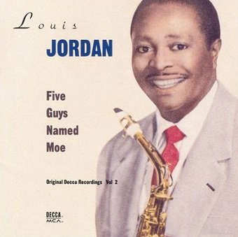 Louis Jordan - Five Guys Named Moe (Original Decca Recordings Vol 2) (CD)