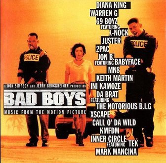 Bad Boys (Music From The Motion Picture) (CD)