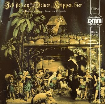 Thomanerchor Leipzig, Hans-Joachim Rotzsch - Ich Steh An Deiner Krippen Hier (LP)