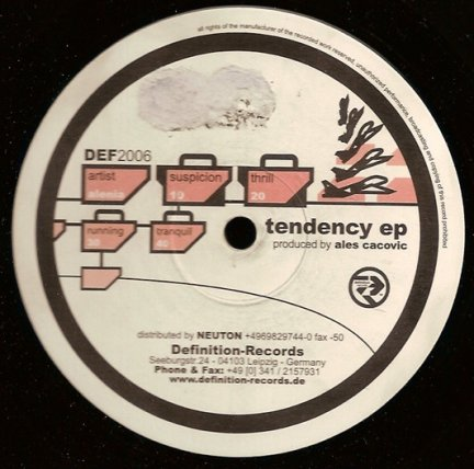 Alenia - Tendency EP (12'')