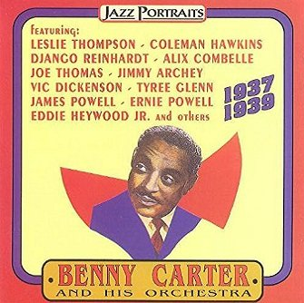 Jazz Portraits: Benny Carter And His Orchestra 1937-1939 (CD)