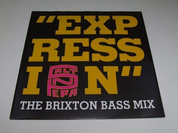 Salt 'N' Pepa - Expression (The Brixton Bass Mix) (12'')