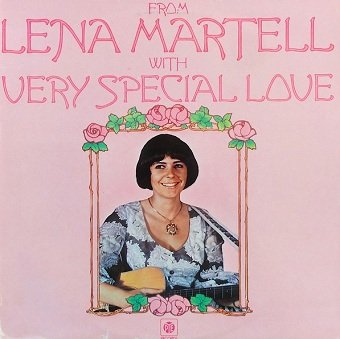 Lena Martell - From Lena Martell With Very Special Love (LP)