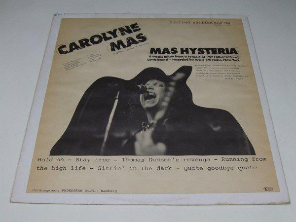 Carolyne Mas - Mas Hysteria (LP)