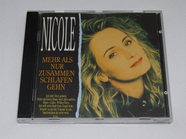 Nicole - Mehr Als Nur Zusammen Schlafen Gehn (CD)