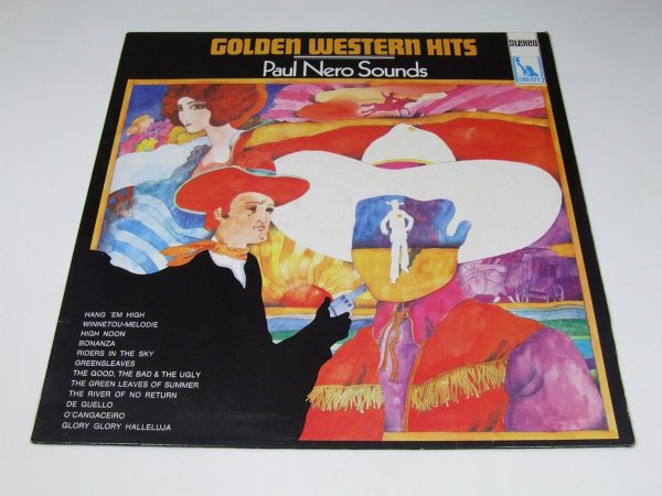The Paul Nero Sounds - Golden Western Hits (LP)