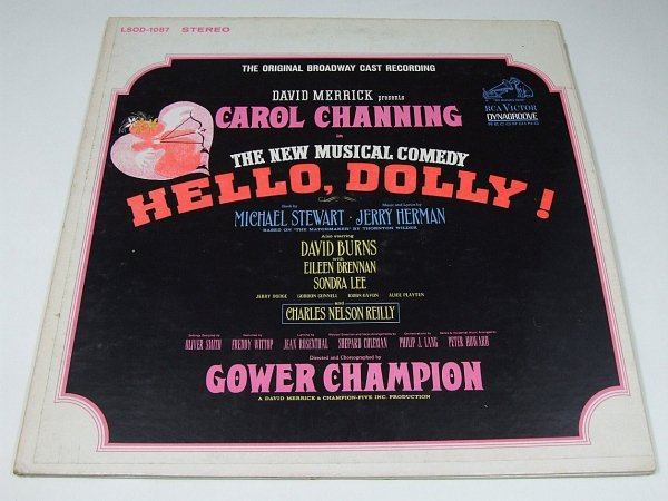 David Merrick Presents Carol Channing - Hello, Dolly! (The Original Broadway Cast Recording) (LP)