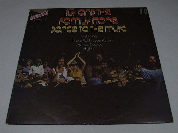 Sly And The Family Stone - Dance To The Music (LP)