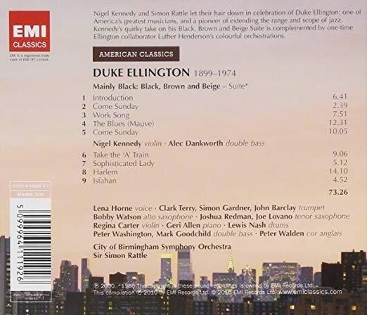 Nigel Kennedy, Simon Rattle - Duke Ellington: Mainly Black: Black, Brown and Beige / Harlem... (CD)