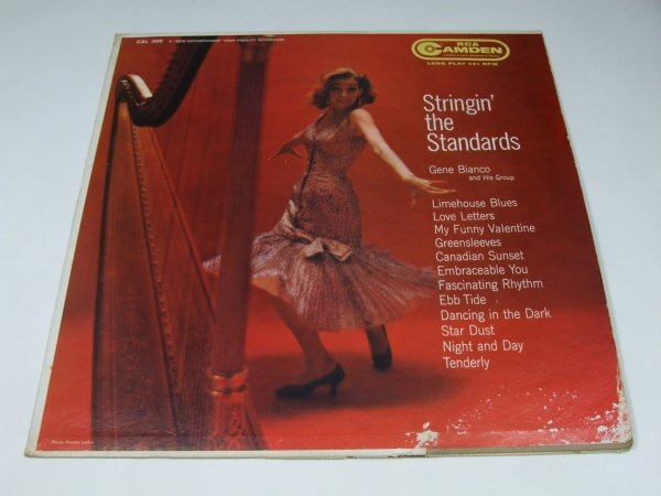 Gene Bianco And His Group - Stringin' The Standards (LP)
