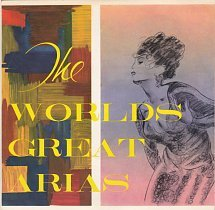 "The Worlds Great Arias - Copagna Dell'opera Italiana Vol. 1 (7"")"
