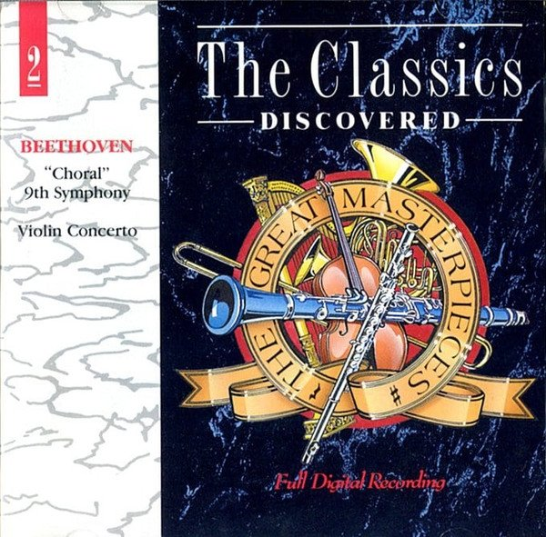 Beethoven - Choral 9th Symphony & Violin Concerto (CD)