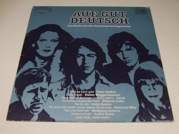 Auf Gut Deutsch (LP)