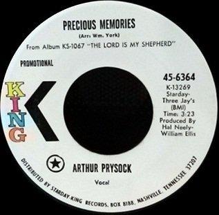"Arthur Prysock - Precious Memories (7"")"