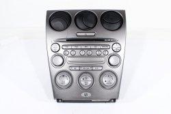 Radio CD panel nawiewu Mazda 6 GG GY 2002-2007
