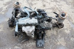 Sanki ława silnika Kia Sephia 1996 1.5i B5