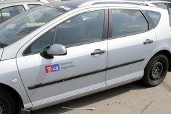 Lusterko lewe Peugeot 407 2004 Kombi (kolor: EYL)