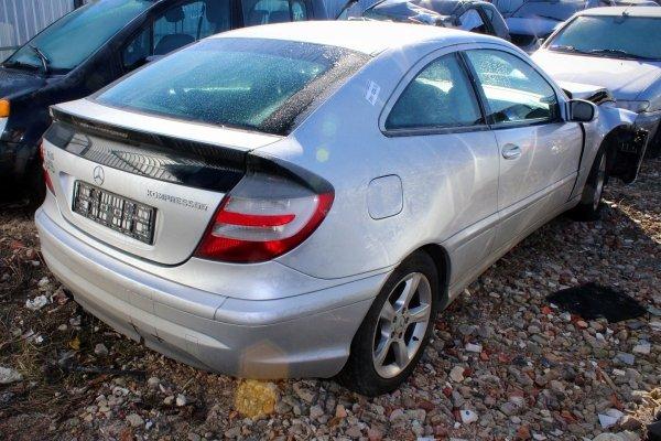 Drzwi przód lewe Mercedes C-klasa W203 2006 Coupe (Kod lakieru: 775)