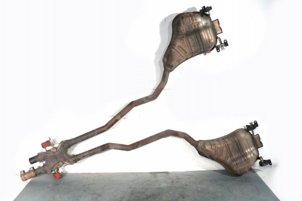 Rura wydechowa wydech tłumik VW Phaeton 2011 4.2 V8 4Motion BGH Sedan