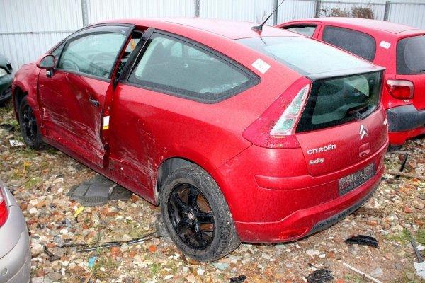 Klapa bagażnika tył Citroen C4 2006 Hatchback 3-drzwi