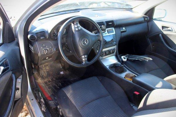 Konsola Mercedes C-klasa W203 2006 Coupe