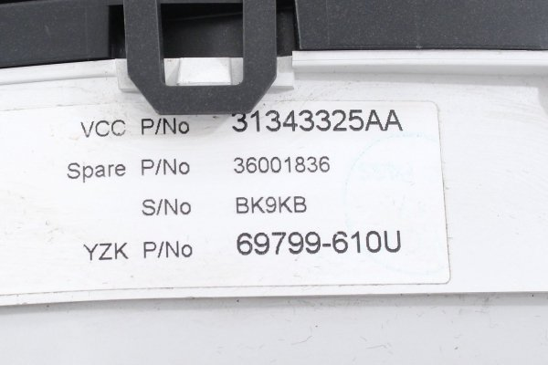 Licznik zegary - Volvo - V70 - zdjęcie 6