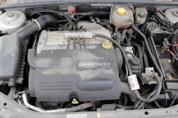 Chłodnica wentylator wody klimatyzacji  Saab 9-3 YS3F 2002 2.0T Sedan