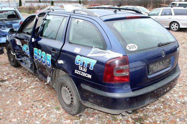 Mechanizm silniczek wycieraczek Skoda Octavia 1Z 2007