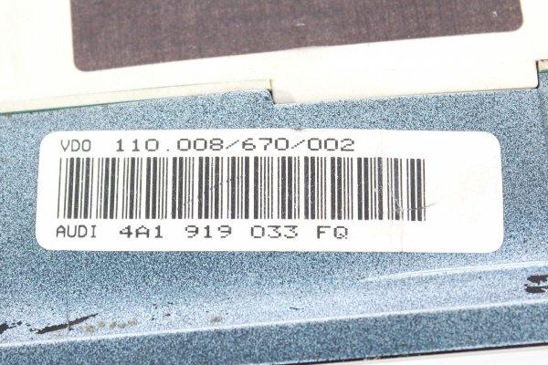 Licznik zegary - Audi - A6 - zdjęcie 7