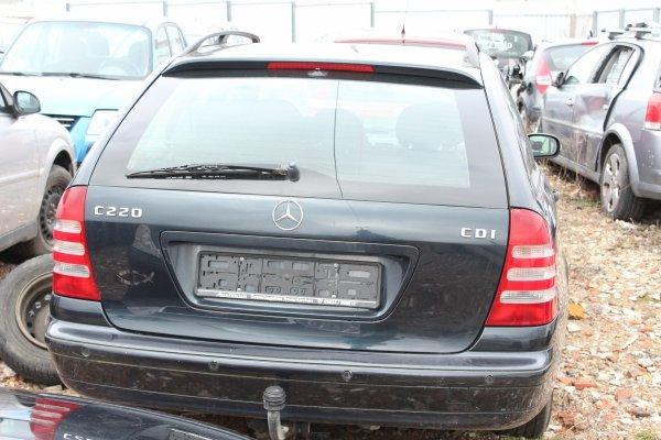 Klapa bagażnika tył Mercedes W203 2002 Kombi (Kod lakieru: 189)