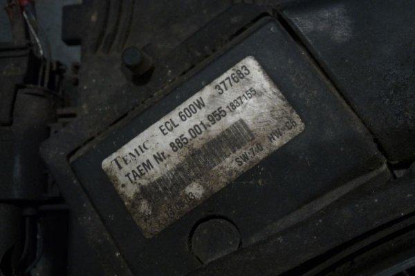 Chłodnica wody klimatyzacji wentylator Mercedes CLK W209 2003 2.7CDI