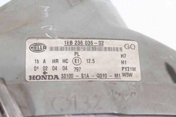 Reflektor prawy Honda Accord VI 2000