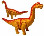 DINOZAUR T-Rex CHODZI I RYCZY Żółty 2895