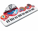 KEYBOARD Pianino ORGANY Nagrywa Smily Play 002071