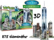 Puzzle 3D WREBBIT New York WORLD TRADE 875 el.Tactik