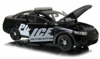 FORD POLICE INTERCEPTOR Auto Welly METALOWY MODEL 1:24