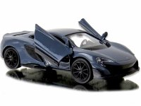 Auto MCLAREN 675LT Model METALOWE Auto Welly 1:34