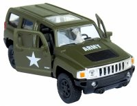 ARMY HUMMER H3 Auto METALOWE Welly 1:34