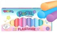 PLASTELINA PASTELOWA 12 kolorów Colorino 87805
