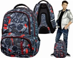 PLECAK Szkolny Coolpack SPINER Red Indian 27 L B01005